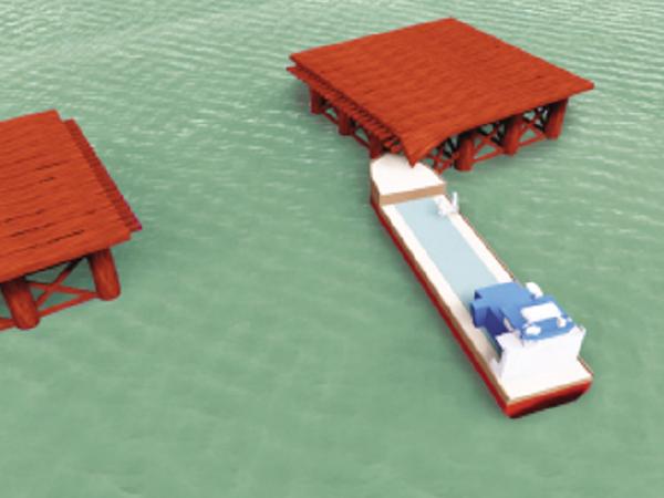 桥梁施工作业平台结构设计与检算