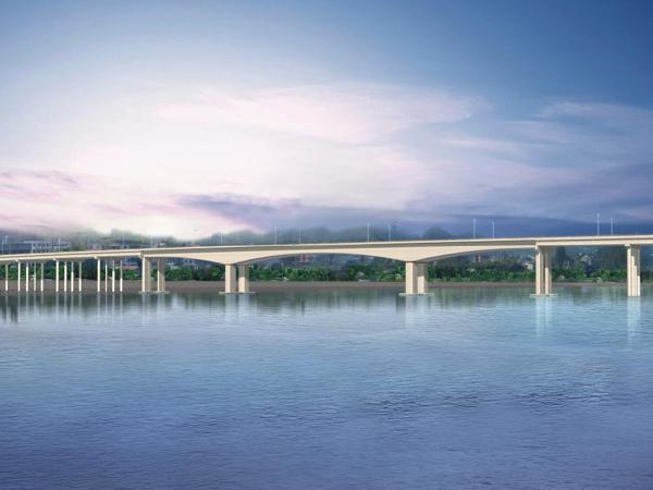 国道改造大桥深水桩基栈桥、平台施工方案