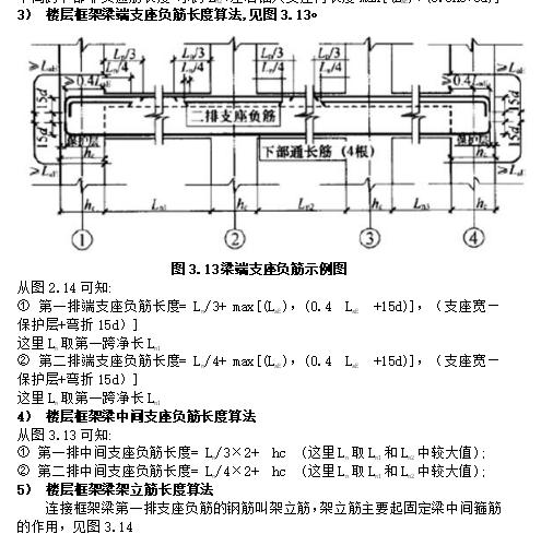 梁钢筋工程量计算(含计算实例)_3