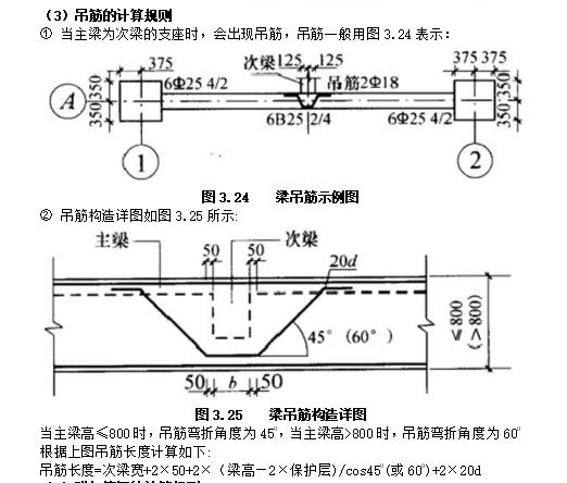 梁钢筋工程量计算(含计算实例)_5