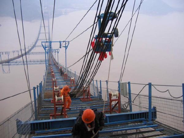 道路工程施工之悬索桥施工总结(65页)