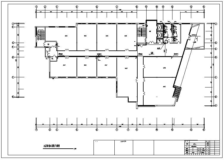 建筑消防工程水系统预算书(含CAD图纸)_2