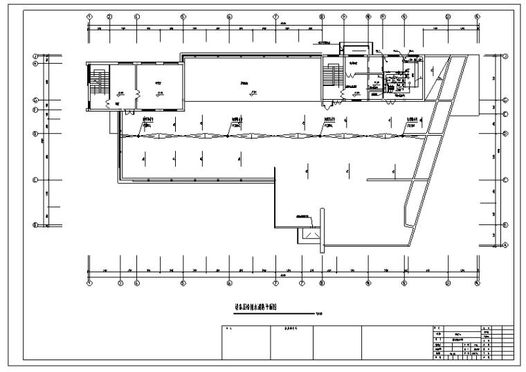 建筑消防工程水系统预算书(含CAD图纸)_3