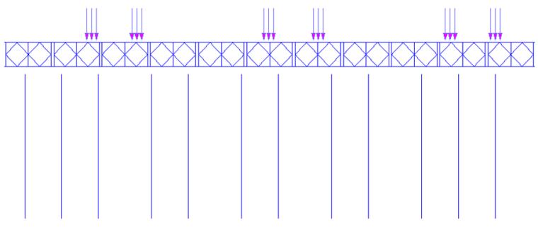 特大桥钢栈桥/施工平台/围堰受力计算_2