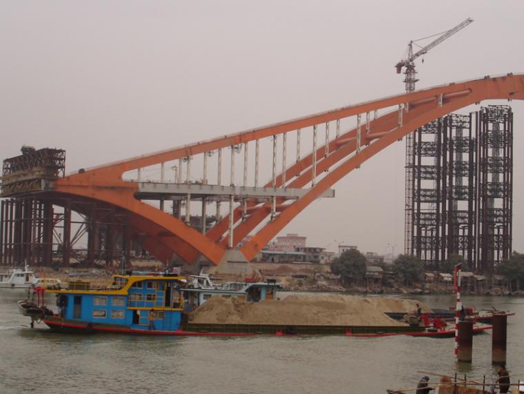 桥涵施工技术中顶推法施工工艺介绍PPT