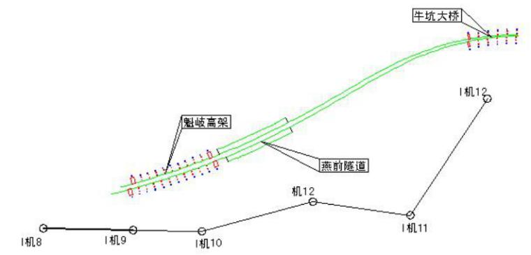 高速公路分离式隧道施工测量方案