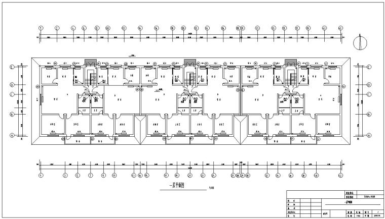 小区住宅楼土建及安装工程预算(带图纸)_4