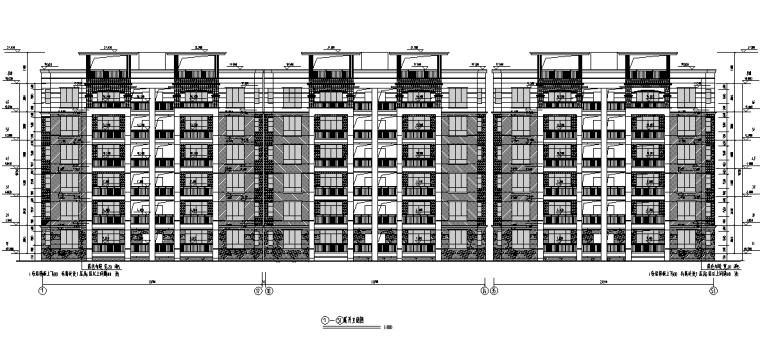 商住小区建筑工程量清单(带图纸)_2