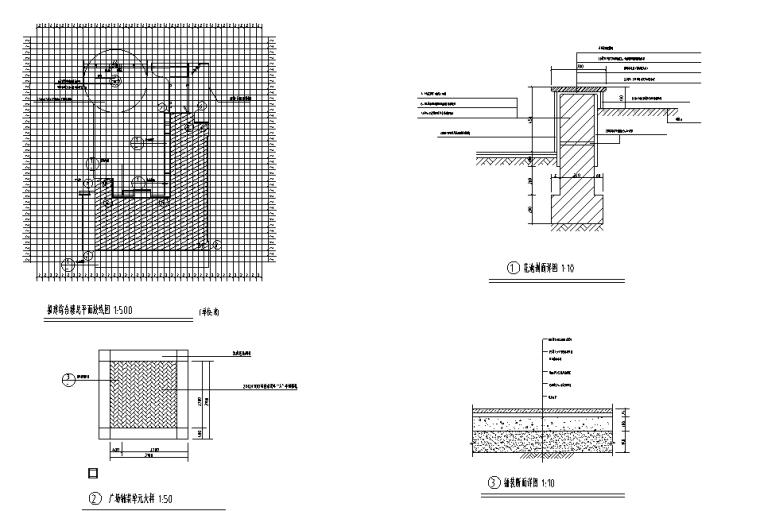 图书综合楼总平配套工程预算书(带图纸)_2