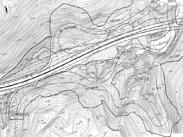 [贵州]高速公路互通式立体交叉工程施工图纸