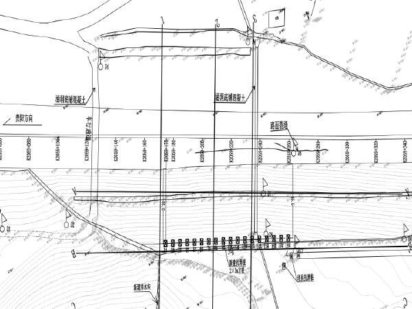 高速下行路堤变形处治工程治理设计图纸招标