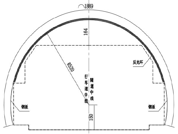 隧道改造工程施工图设计(含招标文件)