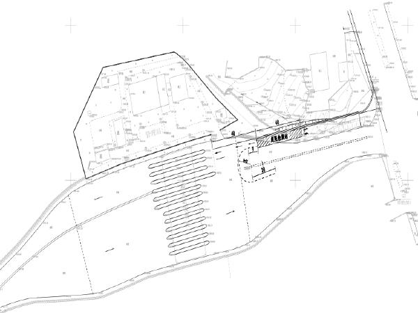 高速公路收费站入口治超设施建设施工图