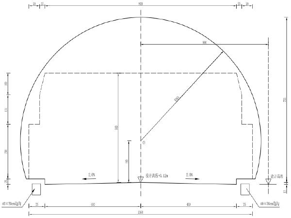 隧道病害治理维修加固施工图及招标文件