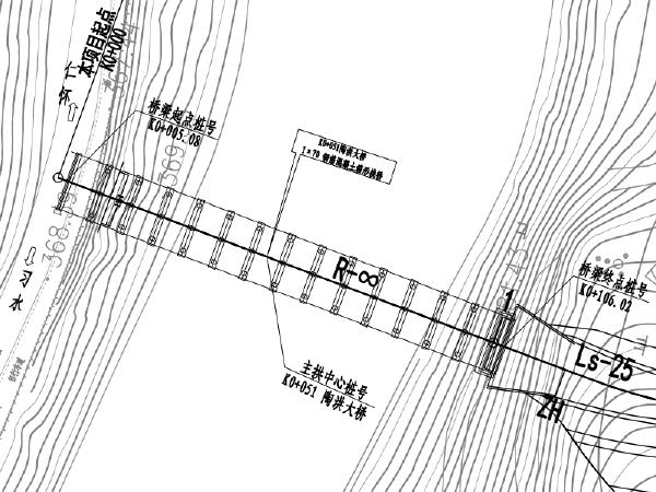 [贵州]渡口改桥工程图纸(含清单及招标文件)