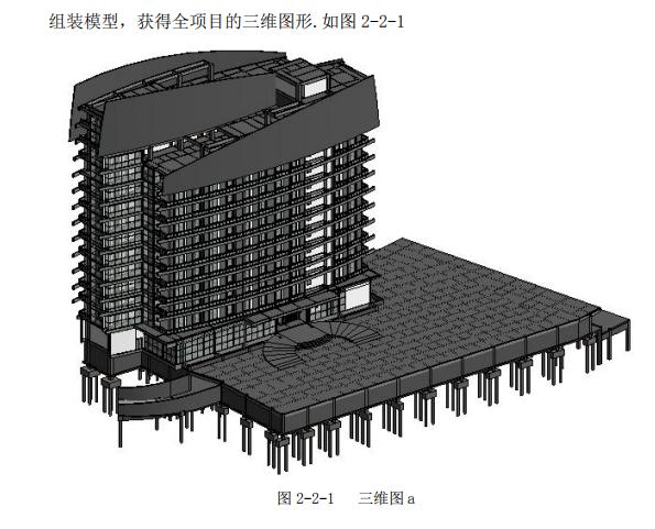 酒店基于BIM进行工程量清单编制的工程实践