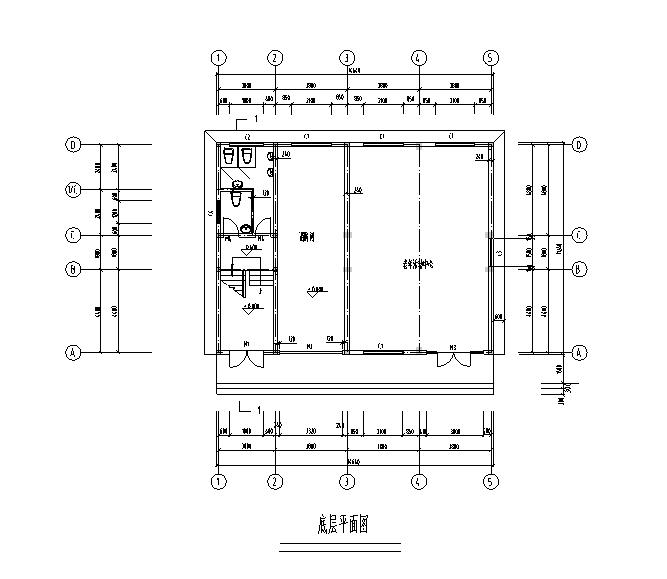[四川]办公楼工程量计算毕业设计(含图纸)