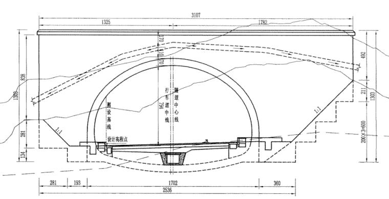 高速公路扩容工程隧道施工图纸(PDF版)