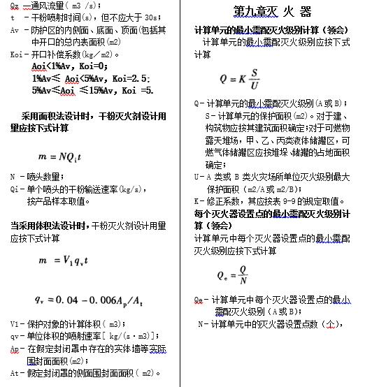 消防设施计算公式_6