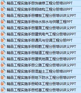 15套精品工程实施手册PPT合集_3