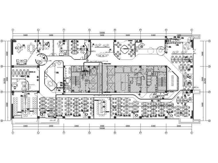 某网红办公室装修工程电气图纸
