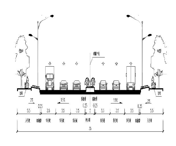 [重庆]立交改造工程图纸(含招标清单地勘)