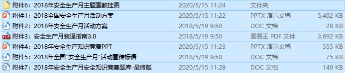 2018年安全生产月活动资料(全套)_1