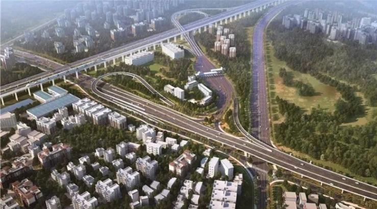 [广州]立交跨线桥盖梁高支模专项方案2018