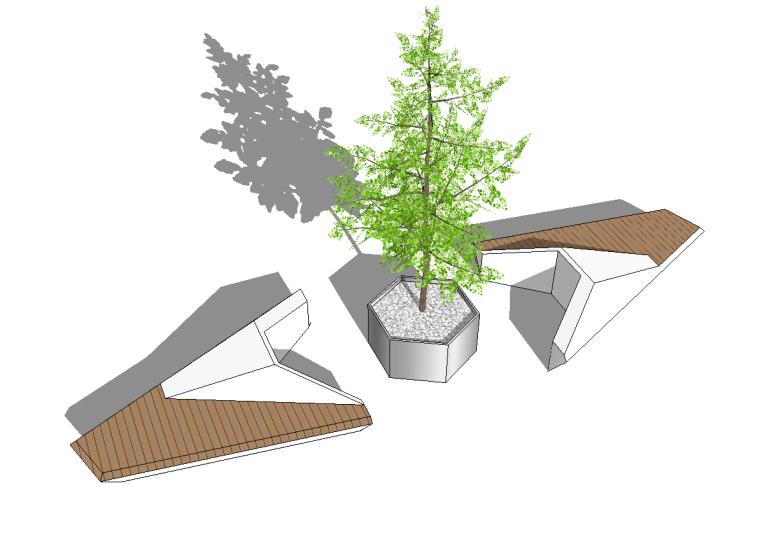 52组树池座椅SU模型设计(一)_3