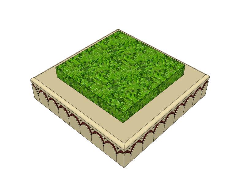 52组树池座椅SU模型设计(一)_7