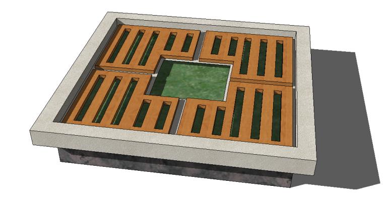 52组树池座椅SU模型设计(一)_11