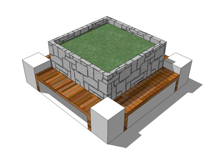 52组树池座椅SU模型设计(一)_6