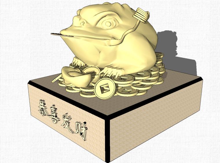 59套中式雕塑小品SU模型设计_2