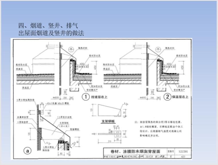 穿楼板墙体桥架_风管_套管封堵及防水做法_5