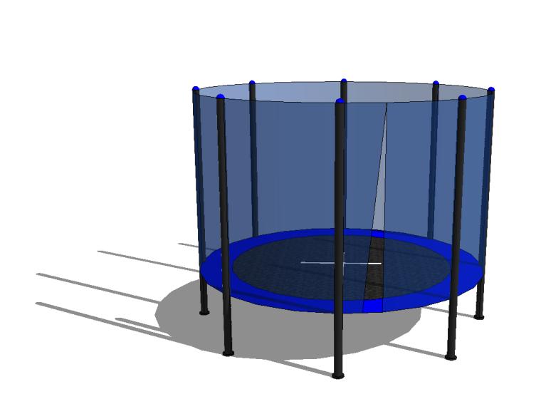 5组儿童乐园游乐场设施设备-蹦蹦床攀岩墙篇_3