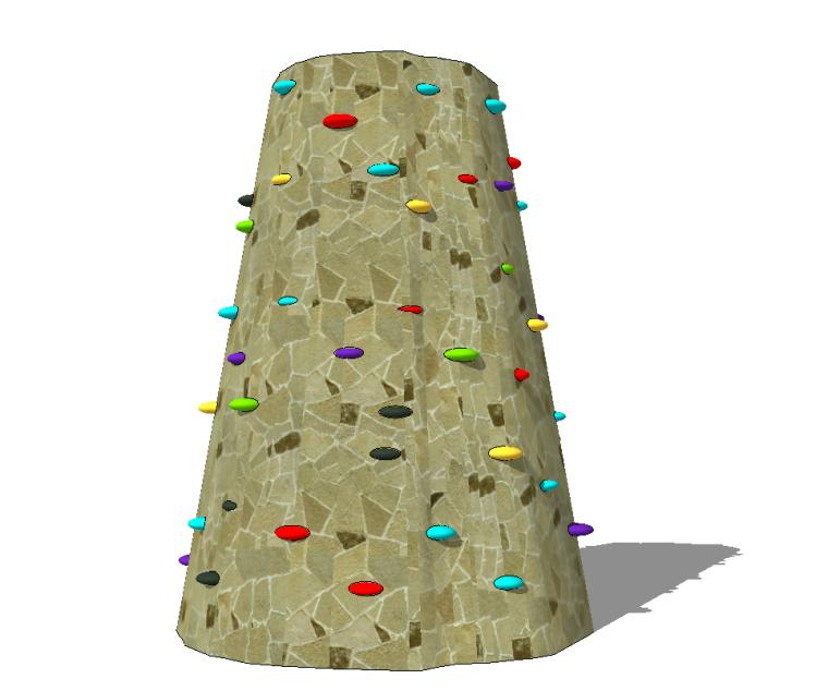 5组儿童乐园游乐场设施设备-蹦蹦床攀岩墙篇_5
