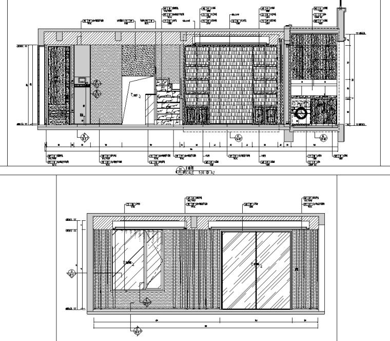 [江苏]无锡锡北金茂府下叠户型样板房施工图_8