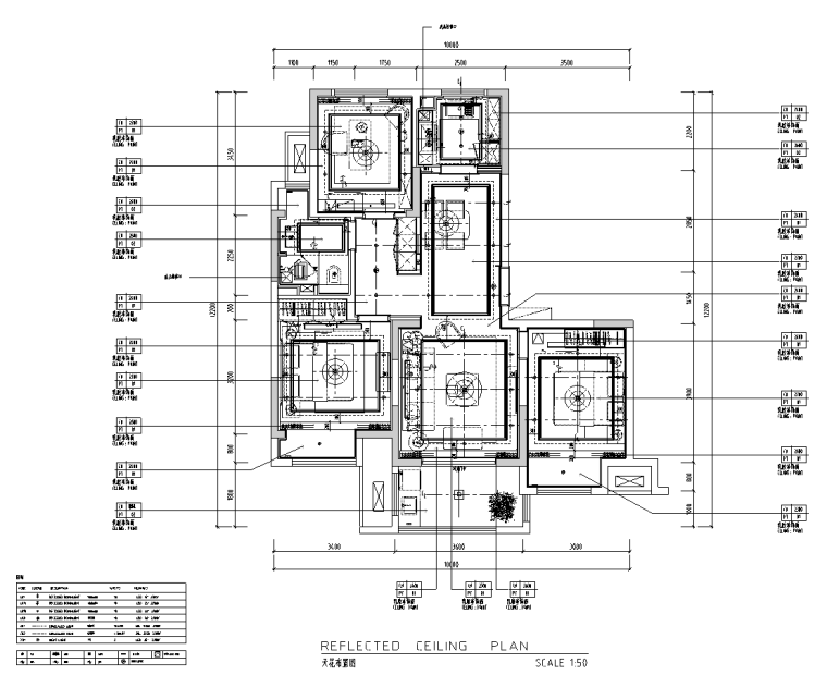 [江苏]无锡锡北金茂府高层100户型施工图_2
