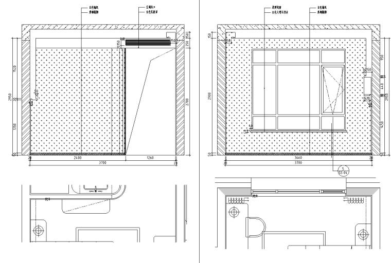 [北京]现代阁楼多层别墅设计施工图_效果图_8