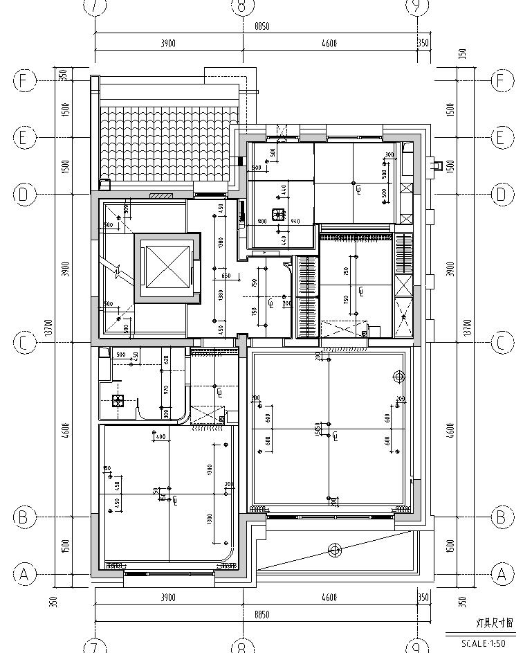 [北京]现代阁楼多层别墅设计施工图_效果图_3