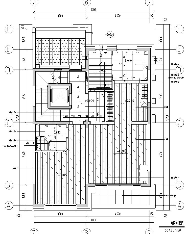 [北京]现代阁楼多层别墅设计施工图_效果图_4