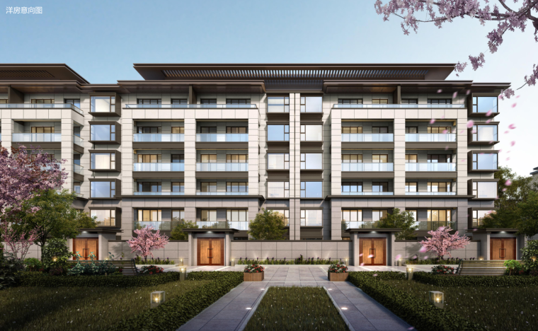 [湖北]知名企业现代风格住宅建筑方案_1