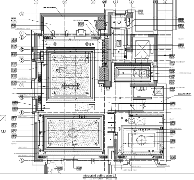 [上海]静安府叠层E2户型别墅施工图_效果图_3