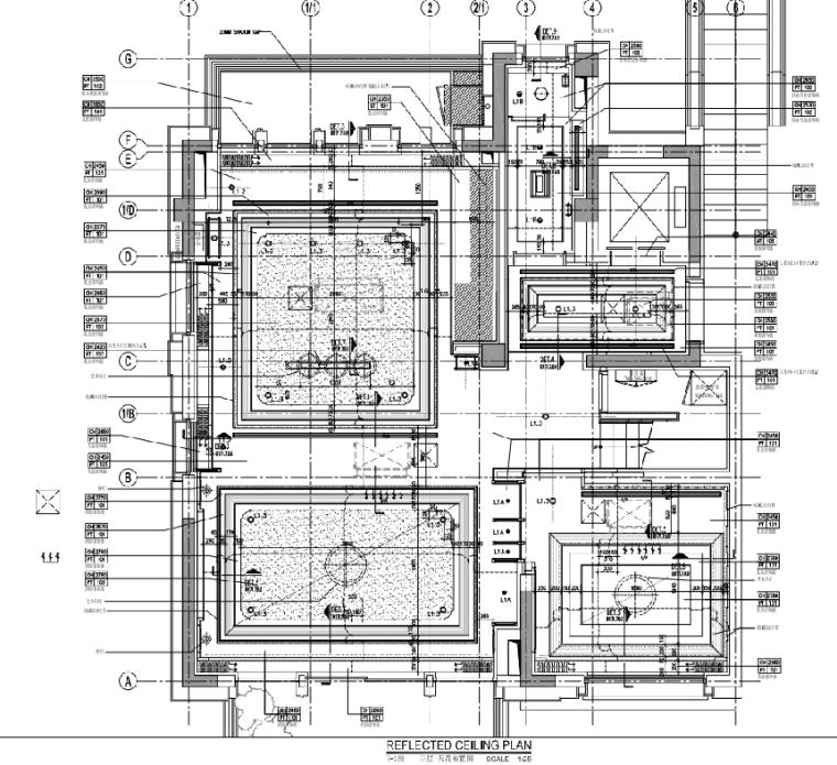 [上海]静安府叠层E2户型别墅施工图_效果图_2