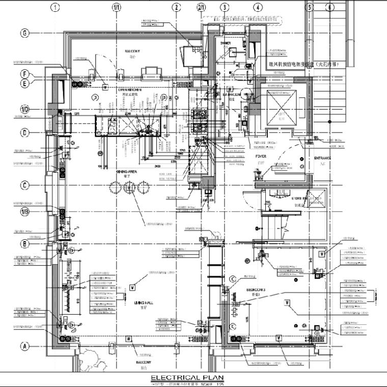 [上海]静安府叠层E2户型别墅施工图_效果图_5