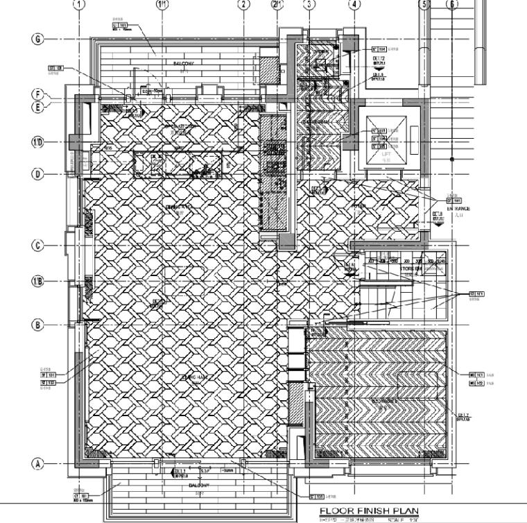 [上海]静安府叠层E2户型别墅施工图_效果图_4