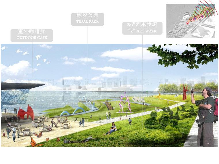[上海]滨江休闲生态都市体验公园景观设计_3