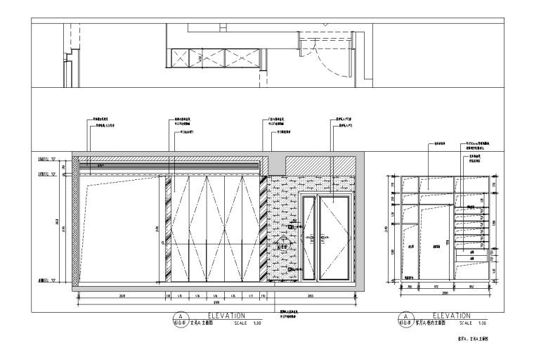 [浙江]杭州220m²现代极简样板间施工图_3D_8