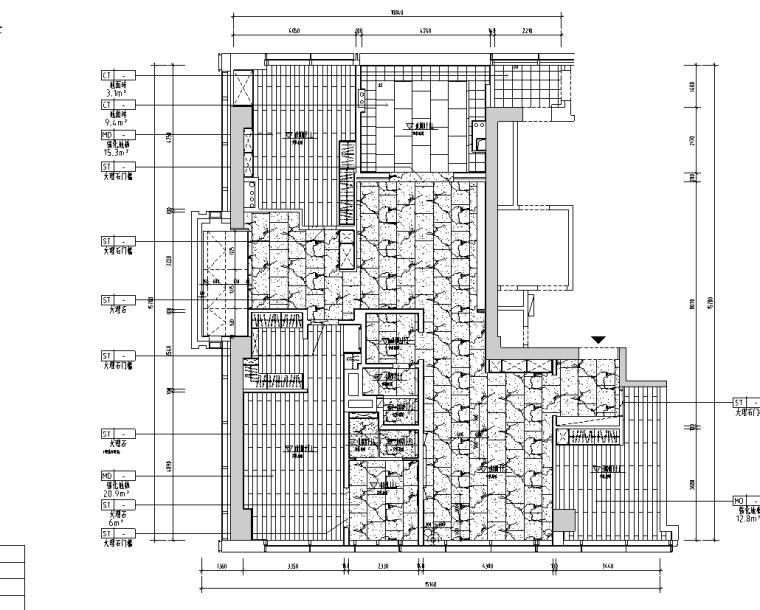 [浙江]杭州220m²现代极简样板间施工图_3D_2
