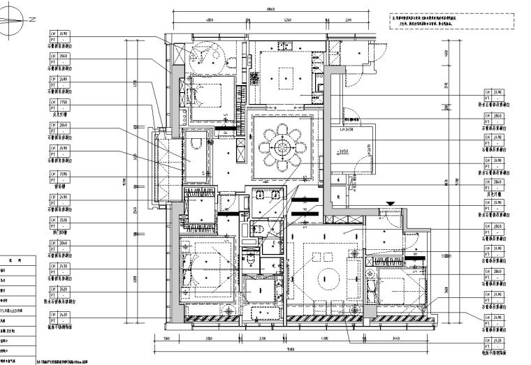 [浙江]杭州220m²现代极简样板间施工图_3D_3